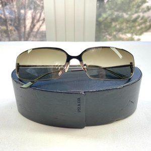 Prada Rectangle Sunglasses with Case
